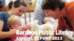Baraboo Public Library Annual Report 2013 cover