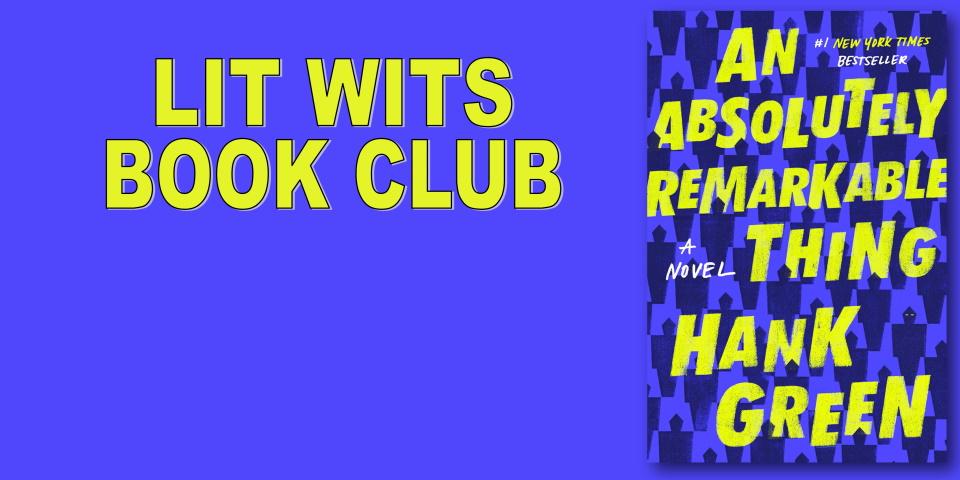 slide advertising Lit Wits Book Club meeting 10-26-21
