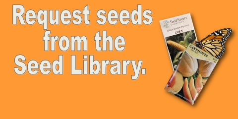 slide advertising request seeds from seed library
